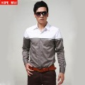 New Arrivel autumn shirt male shirt fashion casual shirt male long-sleeve