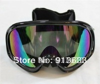 In stock 2013 Ski Snowmobile Motorcycle Off-Road Goggle Eyewear Black Frame Color Lens T815-3