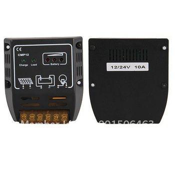 FREE SHIPPING CMP Solar Panel Charge Controller Regulator 10A 12V 24V