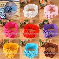 wholesale Baby girls toddler Headband headwear hairband hair accessories flower Free shipping