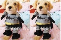 Free Shipping! Lovely/cute Pet Clothes /funny Dog costume / Batman dog clothes / dog outwear,MOQ=1pcs,Halloween&Christmas