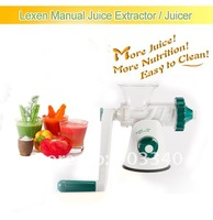 2013 NEW!!! BEST Lexen GP27  Healthy  style manual juicer juice maker fruit juicer wheatgrass juice