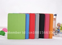 Newest Ultra Thin Football pattern Magnetic Stand Leather Case for iPad Mini 20pcs/lot