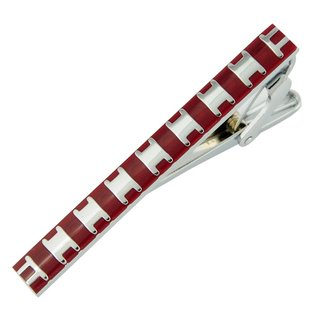 Fashion Stainless Steel Tie Clasp 2 pcs Wholesale / Free Shipping(China (Mainland))