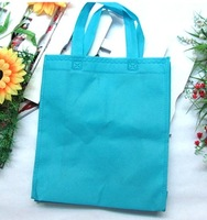 Free shipping Customized Logo Printing non-woven promotional tote bag  30*36*9cm