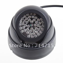 CCTV Security Mini Dome Video 48 LED illuminator light Camera(China (Mainland))