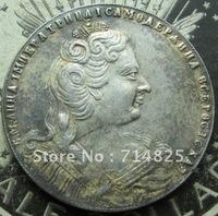 1 ROUBLE 1730 RUSSIA Anna I Coin COPY