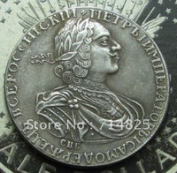 1724 1 ROUBLE RUSSIA Coin COPY