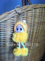 free Shipping  baby dolls Dolls Plush toys Toy dolls Children's gifts,keychain lovely key chain!