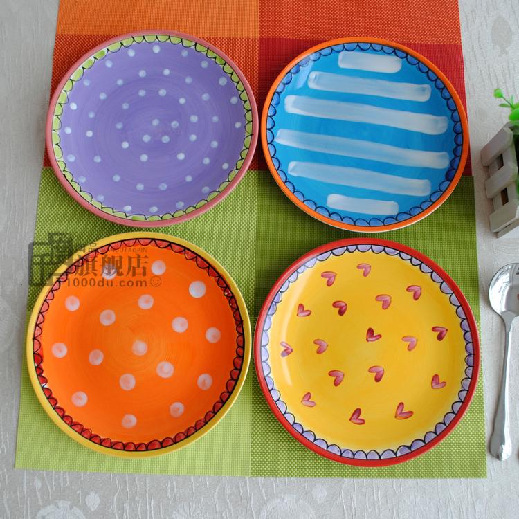 Online kopen wholesale aardewerk schilderen patronen uit china aardewerk schilderen patronen - Decoratie schotel ...