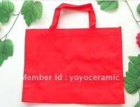 Free shipping Customized Logo Printing promotional bag wholesale 30*40*10cm