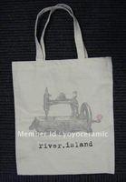 Free shipping Customized Logo Printing promotional cotton bag  37*41cm