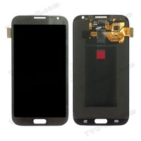 For Samsung Galaxy Note 2 N7100 LCD Assembly with Touch Screen Digitizer Original DHL Free Shipping