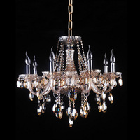 holiday sale,modern black glass chandelier,Egypt crystal