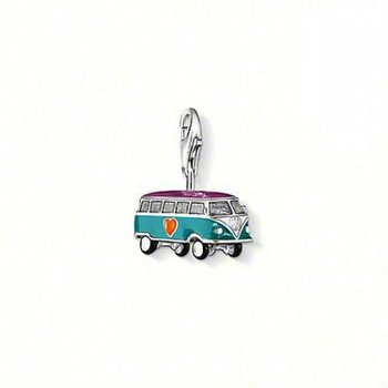 New! Wholesale Free shipping 925 sterling silver / beautiful bus charm / silver pendant charm TS1065