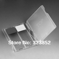 Plastic Microscope Slide Mailer Holder Storage Microslide  Holds2 PP Neutral Color - Pack of 25
