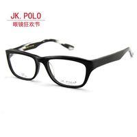 Free Shipping-Brand New Style Jk polo commercial paragraph glasses frame men's trend eyeglasses frame black frame myopia glasses