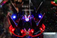 free shipping 9pcs/lot rabbit led luminous glasses flash ball masks gift halloween christmas props