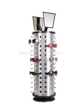 Ty105 Aluminum & Plastic Board Reading Glasses Display Stand Rack , Shelf, Eyewear Rod