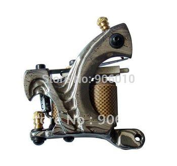 Free Shipping Damascus Tattoo Machine Gun DS-05 Top Hand Made Tattoo Machine