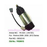 Fuel Stop Shut Off Shutdown Solenoid OE 52318 51557 for Perkins Volvo Penta 872825 ,free shipping
