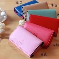 wholelsale - wallet multifunctional general Women mobile phone bag strap card holder