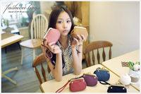 wholelsale - vintage trend day clutch small bags clutch coin purse color block cute women's handbag bag