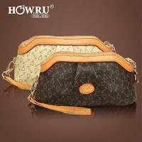 Howru 2012 day clutch women's wallet vintage fashion women's handbag casual fashion clutch