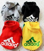 2012 sweatshirt dog clothes pet clothes pet winter pet wadded jacket