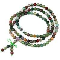 Jewelry plants agate beads bracelet wrist length ring