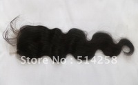 Cheap 6A 100% Brazilian Virgin Remy Hair Body Wave Lace Top Closure 3.5X4 Density=130% Natural Color Brazilian Hair Top Closure