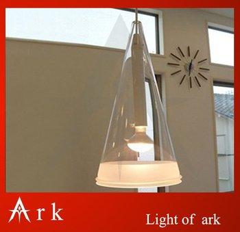 Modern brief single-head fucsia pendant light wind chimes restaurant lamp bar lamps
