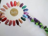 Free Shipping 200pcs/lot Clear&Natural Color Oval Shape Nail Polish Color Chart