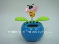 Free shipping by DHL (240pcs/lot) solar dancing flower solar flip flap solar toys(small size)