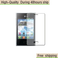 NEW Screen Protector Clear For  LG E400 OPtimus L3 Free Shipping DHL UPS EMS HKPAM CPAM