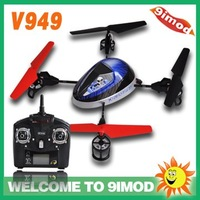 New !WLtoy 2.4G V949 4-axis UFO Ladybird with a LCD display  Remote RC Quadcopter