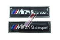Front Side Turn Signal Metal Badge Sticker Fit ///M M Powered by BM Motorsport M3 M5 M6 X3 Free Shipping High Quality Wholesale