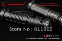 Sunwayman V10A CREE R5 140 Lumens Fully Varialbe 1*AA Tactical CREE LED Flashlight Torch