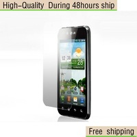 NEW Screen Protector  with Retail Package Clear For LG P970 Free Shipping DHL UPS EMS HKPAM CPAM