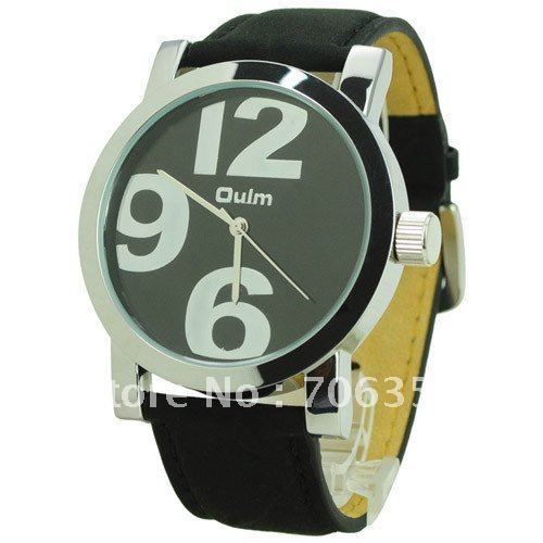 Fashionable OULM 9715 Cool Num Military Sport Analog Digital Simply Design Men's watch(China (Mainland))
