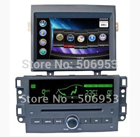 car dvd gps for chevrolet new epica with SRS audio processor+RDS+IPOD+slide iphone menu+wallpaper(China (Mainland))