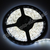 Free Shipping 5M 3528 LED Waterproof Strip Light 60 LED DC 12V 24W RGB/Blue/Yellow/Red/Green Strips Light 50M/lot