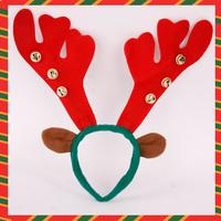 Christmas christmas gift Christmas decoration 35cm staghorns bell ears headband 139
