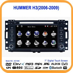 "7""Car DVD Player GPS for HUMMER H3/BUICK Terraza/CHEVROLET Corvette/SATURN Relay With Navigation radio Free 4GB Map(AC1348)(China (Mainland))"