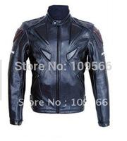 Overalls motorcycle service locomotive take locomotive PU  leather jacket