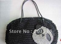 Hot sale-2012 Fashion ladies' handbag, Leisure bag,Crystal diamond shoulder bags for lover bags,Christmas gifts free shipping