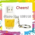 Guarantee Real 2GB 4GB 8GB 16GB Cool Beer Cup USB Flash Memory Stick Pen Drive Thumbdrive U Disk + gift box