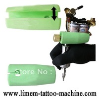 5pcs/lot Tattoo machine crash cushion handle pads silica gel set of equipment consumables
