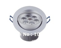 7w led dowlight AC85-265v 2 year warranty 770lm DHL free shipping 12pcs/lot