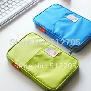 Free Shipping Passport Holder Bag Checkbook Card & ID Holder Stationery Purse Travel Wallet